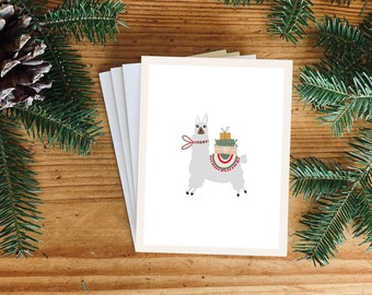 NEW! Christmas Card, Christmas, Carte des fêtes, Greeting Cards, Blank Inside, Envelope included, Greeting Cards