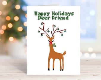 Christmas Card, Greeting Cards, Funny Card, Handmade Cards, Ecofriendly