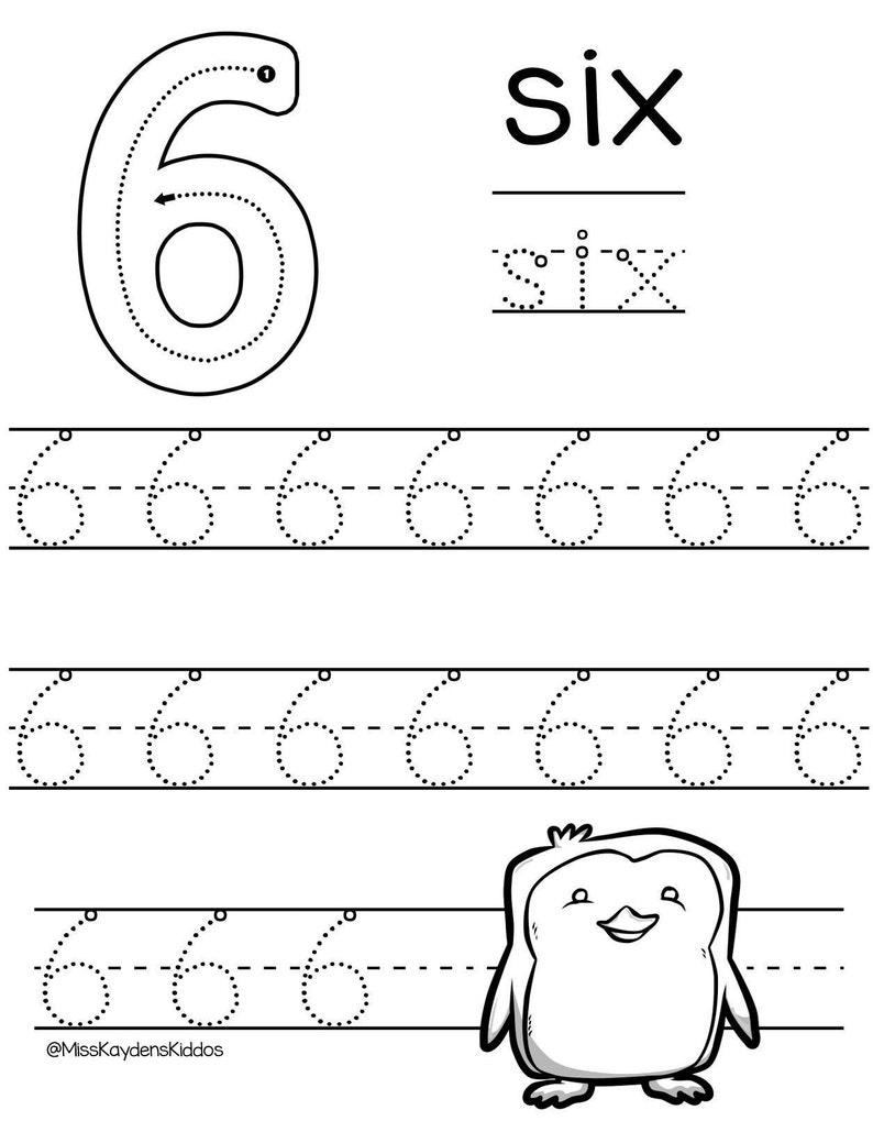 Preschool Math Worksheet Set Printable Winter Theme Number 0-10 Number Tracing Worksheets Tracing Pages Preschool Tracing Pages