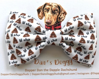 Lil Sh!t Bow Tie for Dogs