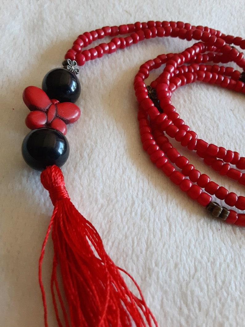 Prayer bead necklase