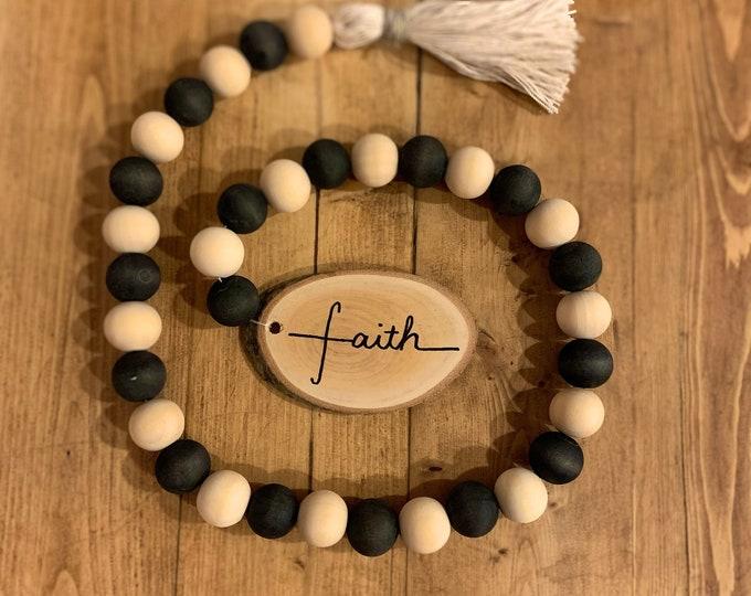 Faith Bead Garland