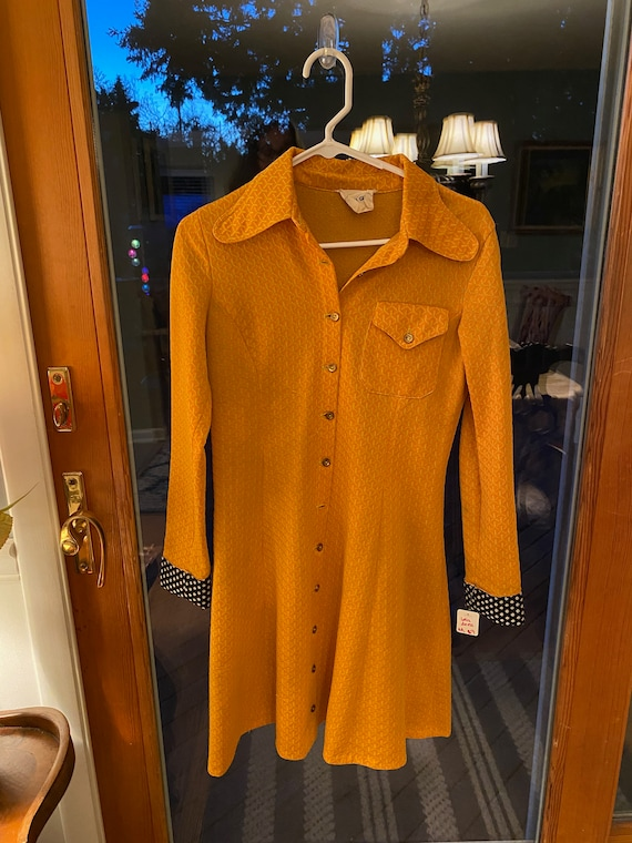 Vintage 70's Dress Youth Guild by Fanntastic Finds
