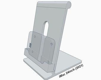 "24"" iMac (2021) Single Hard Disk Mount (Aluminum Look)"