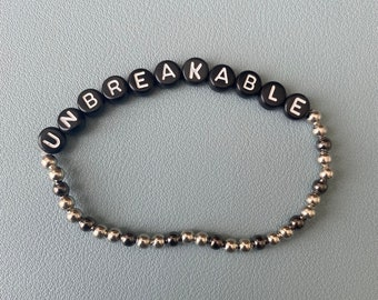 Unbreakable - Six the Musical Bracelet