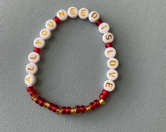 All You Need is Love - Moulin Rouge Bracelet