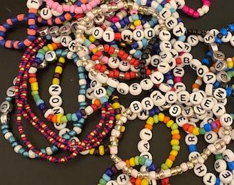 Custom Letter Bracelet