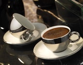Zeugma Luxury Turkish Coffee Cup Set, 2 4 6 Person