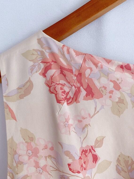 Vintage 90s 1990s Laura Ashley floral print dress… - image 3