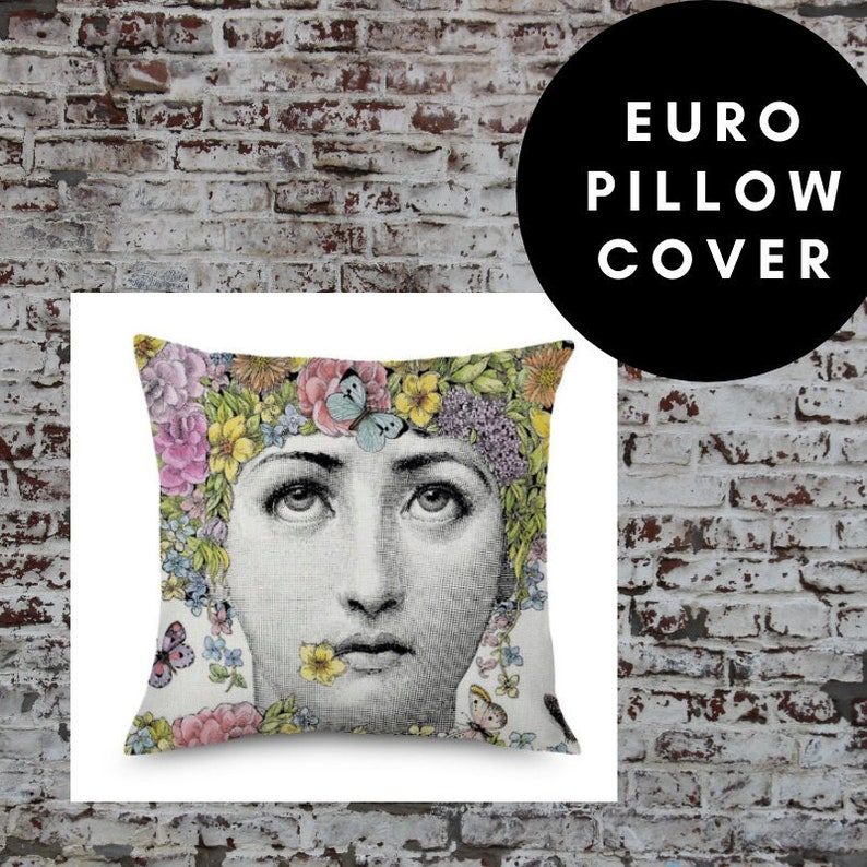 45cm x 45cm Home Decor Various Pillow Cover European Pillow Colorful Cushion Italian Design Black /& White Bedroom Living Room