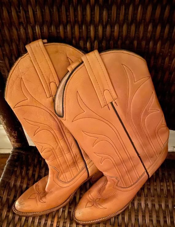 Vintage Frye western style women's boots