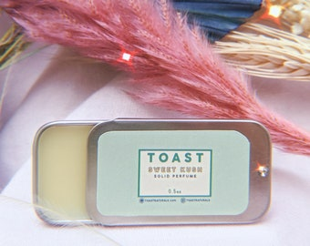 Sweet Ku.sh Solid Perfume | Vegan Fragrance | Self Care | Unisex Scent | Salve | Gift