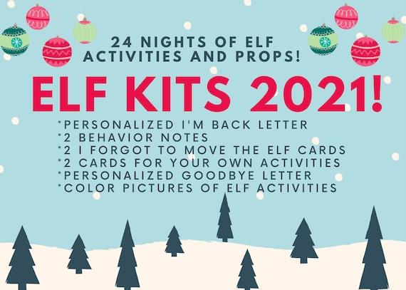 2021 Elf Kit  24 Nights of Activities and Supplies