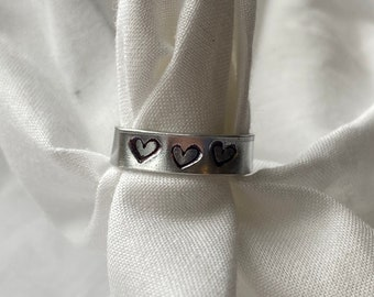 Stamped and Wire Rings
