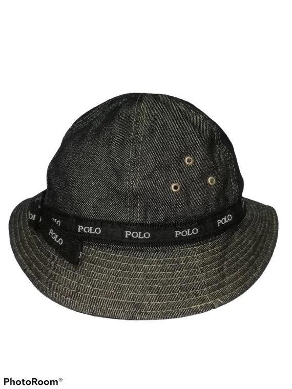 Vintage 90s Polo Sport Ralph Lauren Bucket Hat Cap