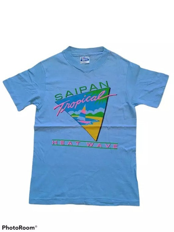saipan vintage tshirt tropical dreams surf tshirt beach tshirt single stitch