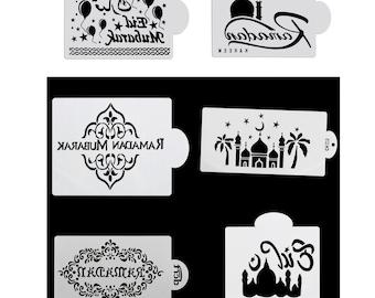 SVG Stencils Eid Mubarak Design 2
