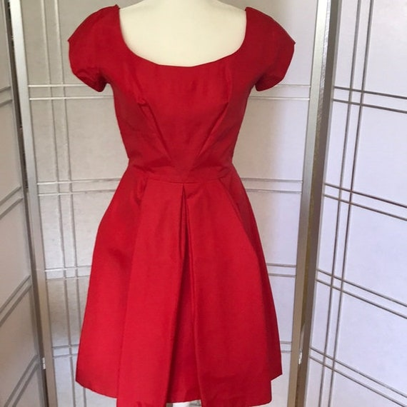 Vintage |  1950's cocktail dress