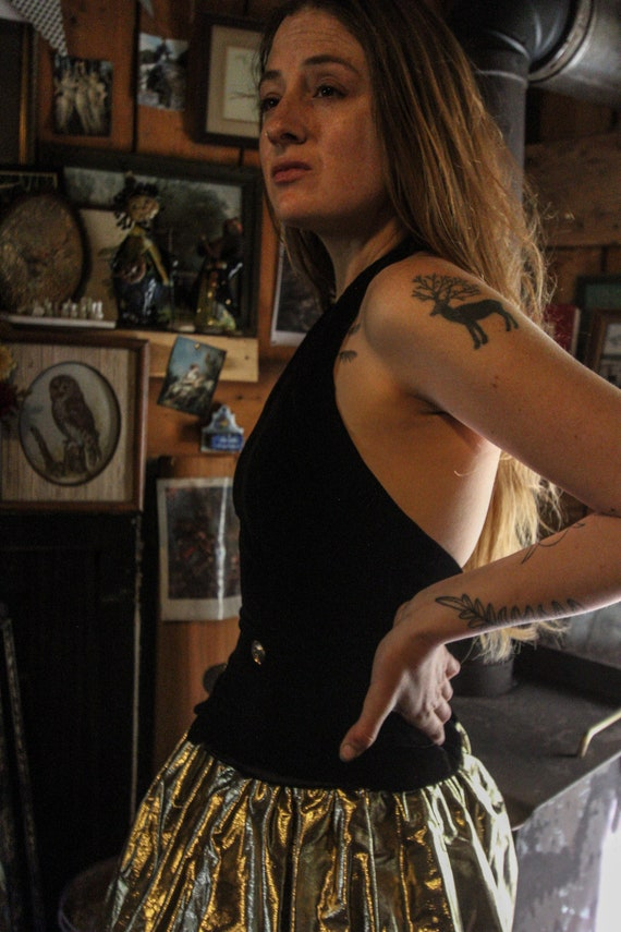 Steampunk Style Vintage Gunne Sax Dress - image 6