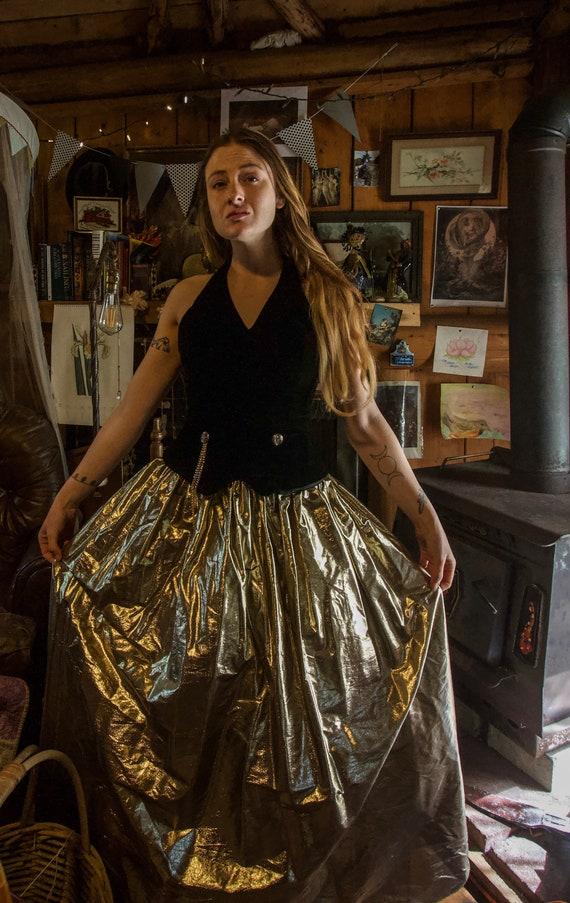 Steampunk Style Vintage Gunne Sax Dress - image 4