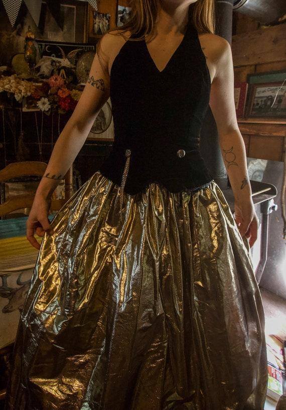 Steampunk Style Vintage Gunne Sax Dress - image 7