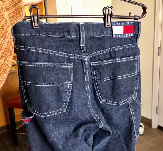 Vintage Y2K Tommy Carpenter Flared Jeans