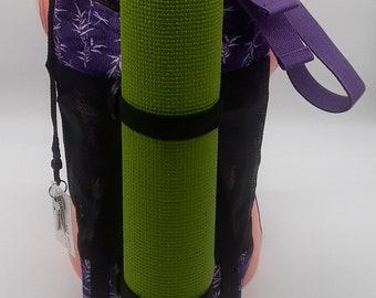 InBalance Workout/Yoga Bag - Purple Bamboo