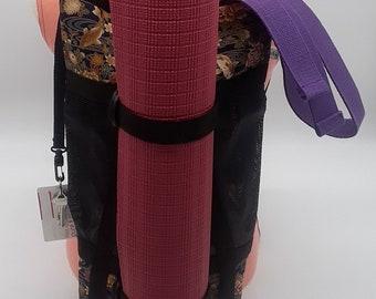 InBalance Workout/Yoga Bag - Navy Koi Fish