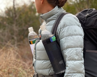 The Original - Ultralight Flexible and Easily Accessible Water Bottle Holder