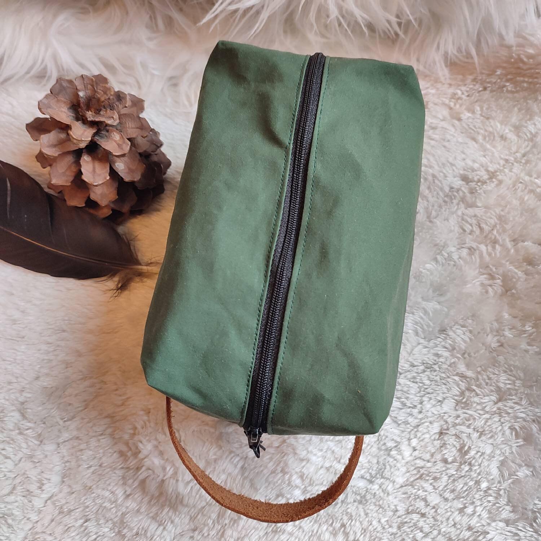 Tasche aus Oilskin-Baumwolle, 100 % handgefertigt, für Outdoor-Leidenschaftler (Bushcraft | Survival | Trekking)