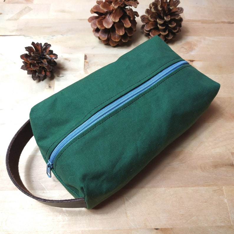 Oilskin Cotton Bag 100% Handmade for Outdoor Enthusiasts image 0