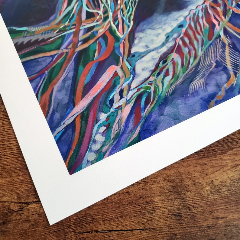 Limited Edition Giclee Fine Art PRINT Shelter in Place