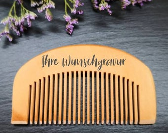 Beard comb personalized, Barber, Beard combs, Father's Day gift, Men's Day, Gift for men