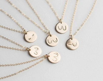 minimal style necklace feminist symbol breast shape art style necklace Mammilla boob necklace with freshwater pearls