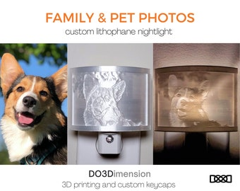 Three funny and cute cats 3D printed Lithophane illustration