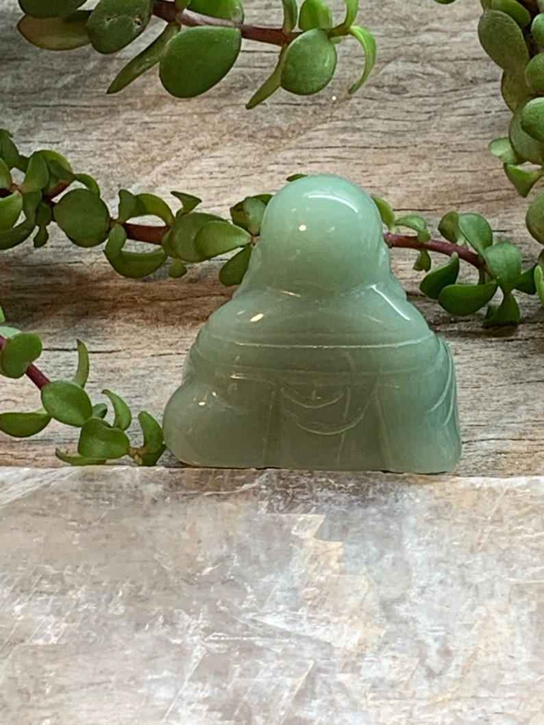 Green Aventurine Buddha FIG-0109