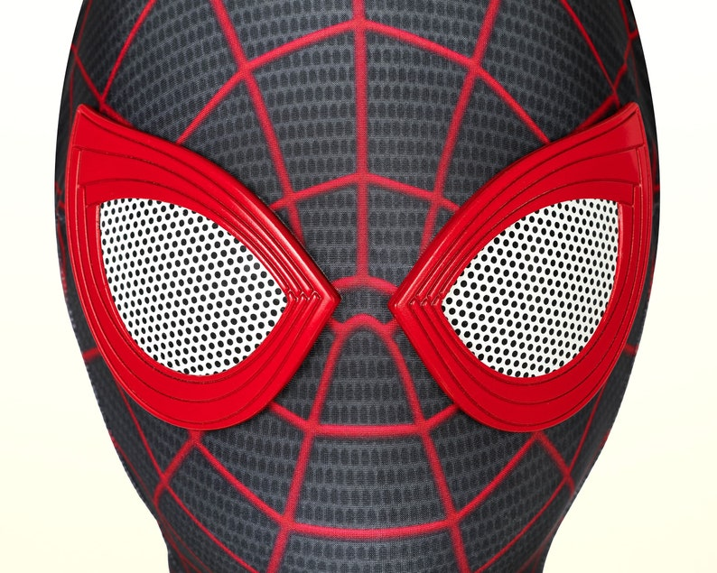 Spider-Man Miles Morales PS5 Costume Cosplay Suit Kids Outfit