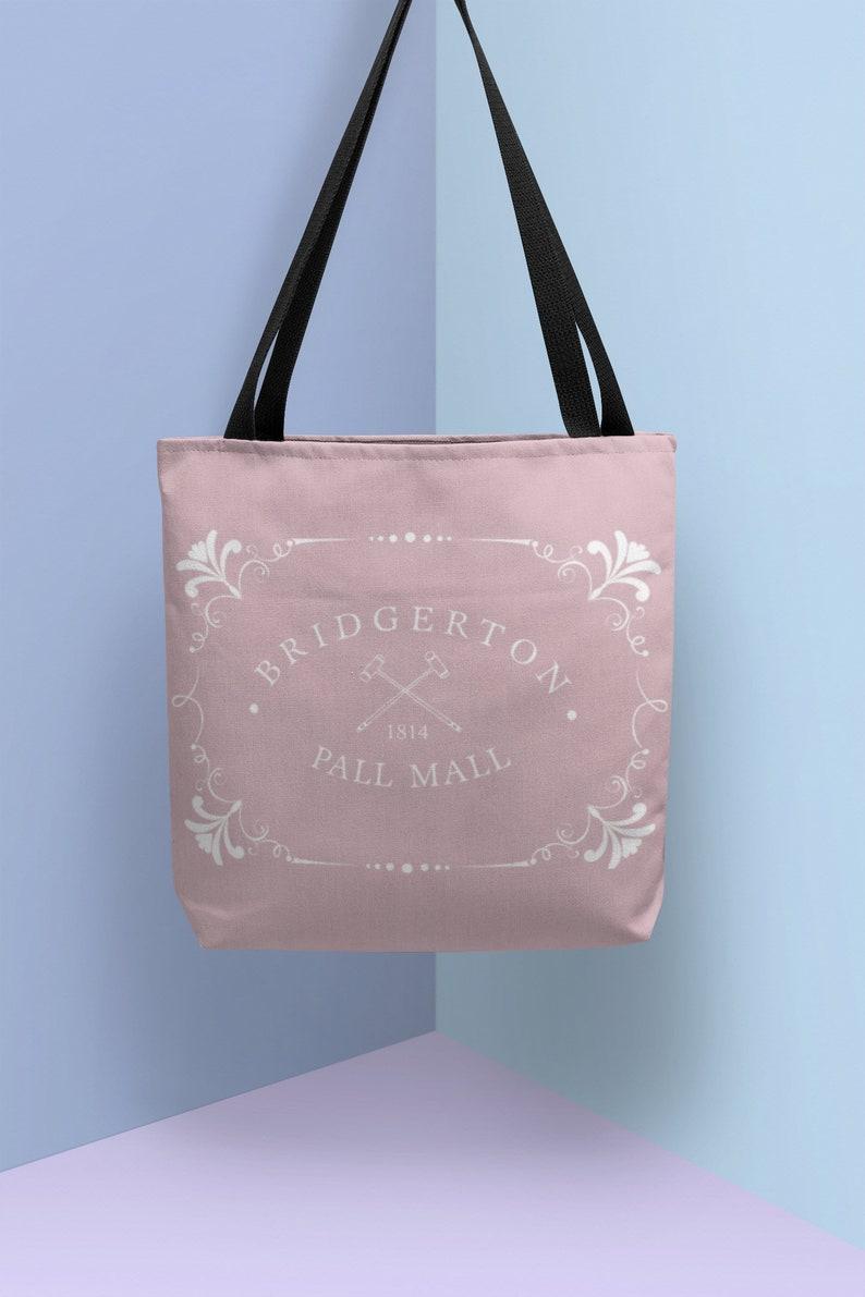 Duke Duchess of Hastings Bridgerton Gift Bridgerton tote bag Lady Whistledown Society Papers Shirts Peneloise Gifts Bridgerton Pall Mall
