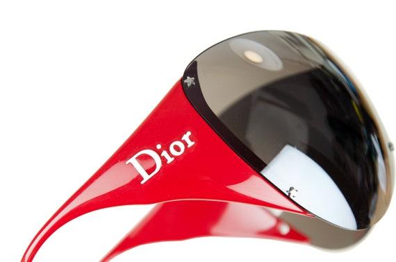 2000s Dior Ski 1 mask sunglasses / Vintage Y2K Di… - image 7