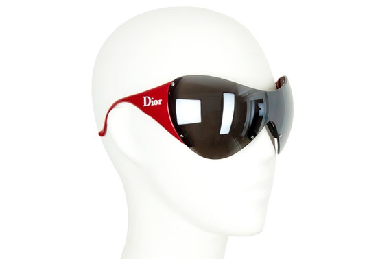 2000s Dior Ski 1 mask sunglasses / Vintage Y2K Di… - image 3