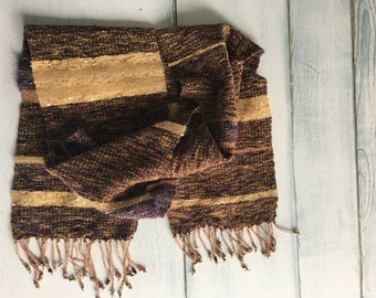 hand woven accent scarf