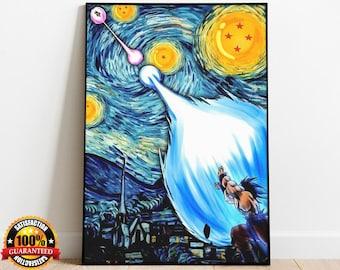 Android 18 Dragon Ball Z New Custom Silk Poster Art Wall Decor