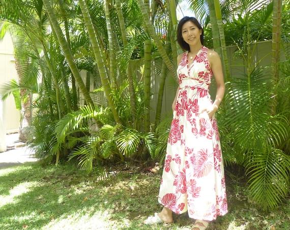 Bridesmaid Dress or Guest Dress for Hawaiian Wedding