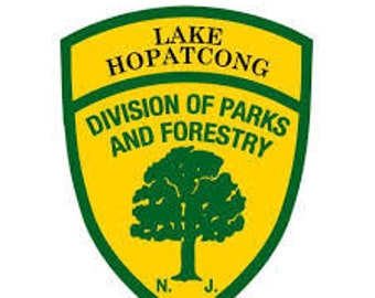 Snake Hopatcong T shirt-Royal Crest Version  LAKE HOPATCONG NJ