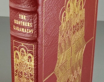 Easton Press The Brothers Karamazov by Fyodor Dostoevsky 1979, First Edition, First Printing. Leather bound.