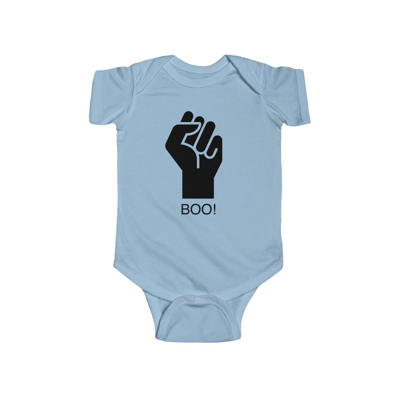 Newborn Baby Romper Suit Unisex Infant Cloths Baby Cadre Original Black Power Baby Onesie Baby Shower Gift Jersey Bodysuit