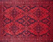 6x9 Rugs, Red Rug 6x9, Turkish Rug 6x9, Vintage Rug 6x9, Oushak Rug 6x9, Area Rug 6x9, Heriz Rug 6x9, Turkish Area Rug 6x9, Kilim Rug 6x9,