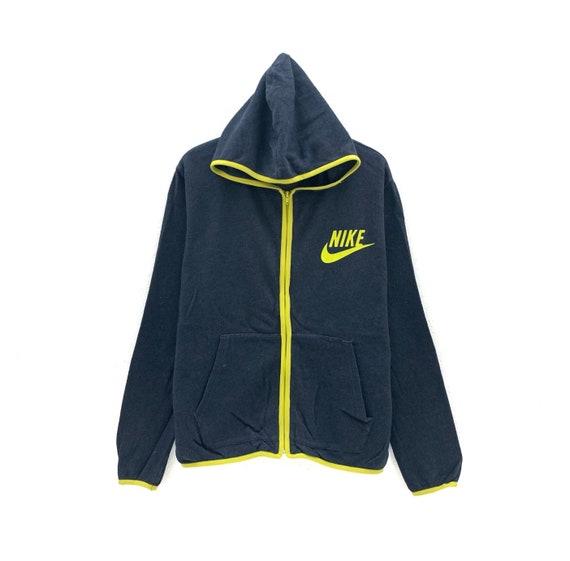 Nike Swoosh Hoodie Full Zip Long Sleeve Sweatshirt