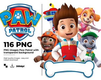 paw patrol svg birthday