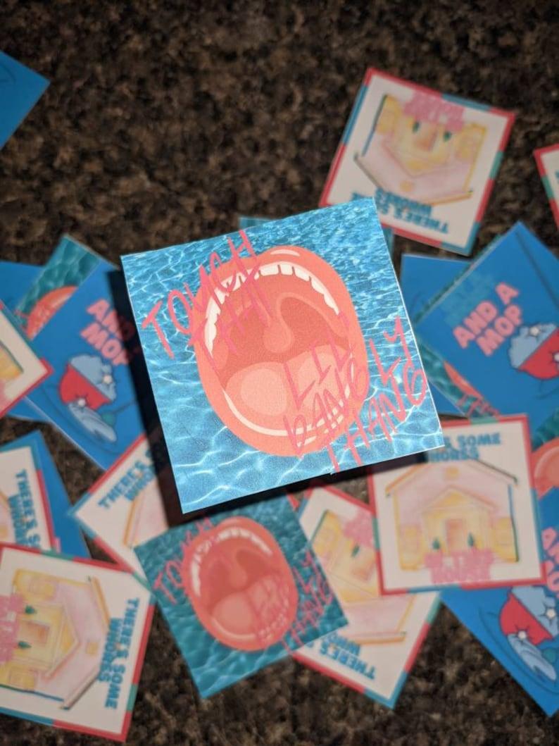WAP Sticker 3 Pack